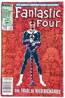 Fantastic Four 262 (1984) John Byrne. Juicio Reed Richards.