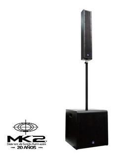 Audiolab Edge 8412 Line Array Potenciado Subwoofer Activo