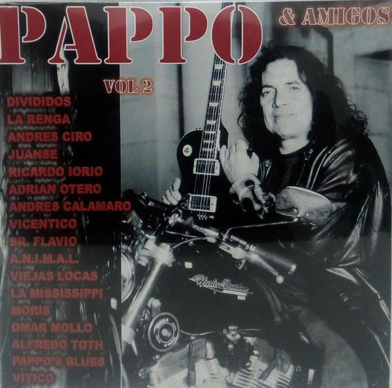Vinilo Pappo Y Amigos Vol 2 Reedicion 2017