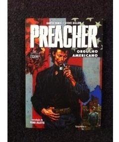 Preacher Completa Vertigo (devir, Panini E Pixel)