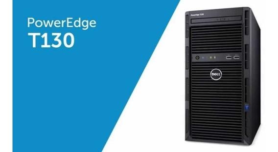 Servidor Dell Poweredge T130 2teras Com 8gigas Performance