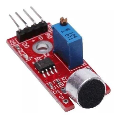 Módulo Sensor Som Microfone Arduino Detector Ky-038 Ky038