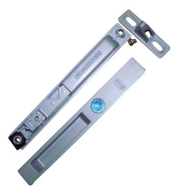 Cerradura Puerta Corrediza Aluminio Sin Llave Color Zinc St