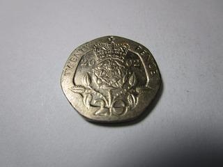 Moneda De Coleccion 20 Pence