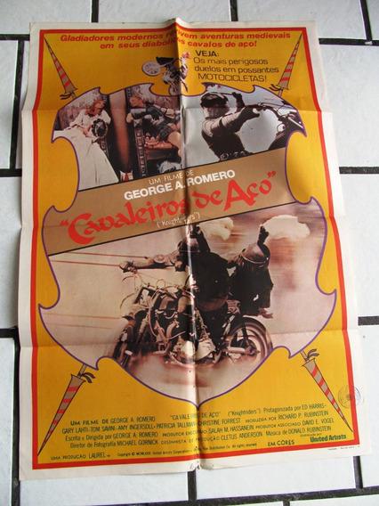 Cartaz Cavaleiros Aço George Romero Motos Cavalos Ed Harris