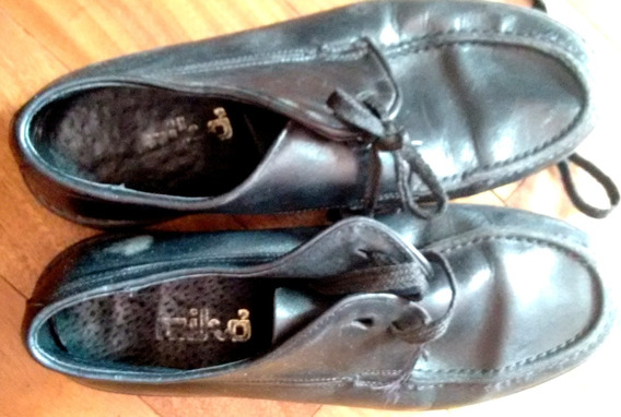 Zapatos Colegial 35/6 Miko Marcel Hush Puppies Negros Caba