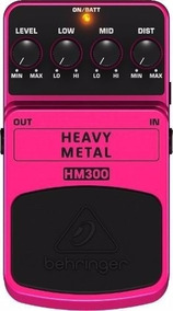 Pedal Para Guitarra Heavy Metal Distortion Behringer Hm300