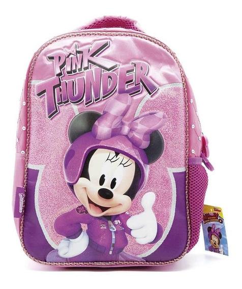 Mochila De Espalda Minnie Km723 Disney Original 12