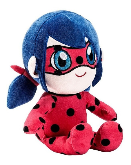 Miraculous Pelúcia Ladybug 26 Cm Original Fun Divirta-se S