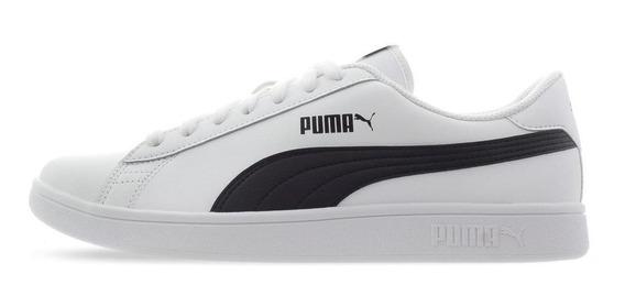 Tenis Puma Smash V2 L - 36521501 - Blanco - Hombre