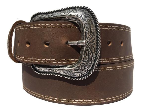 Cinturon Vaquero De Piel Genuina Botas Rodeo Old Caborca