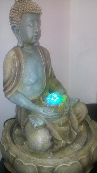 Fuentes Feng Shui Buda Con Esfera De Cristal