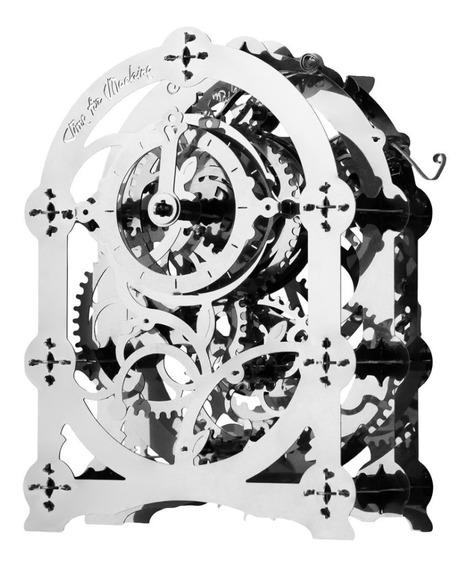 Reloj Misterioso 2 Acero Armar Modelismo Bloques Juguete