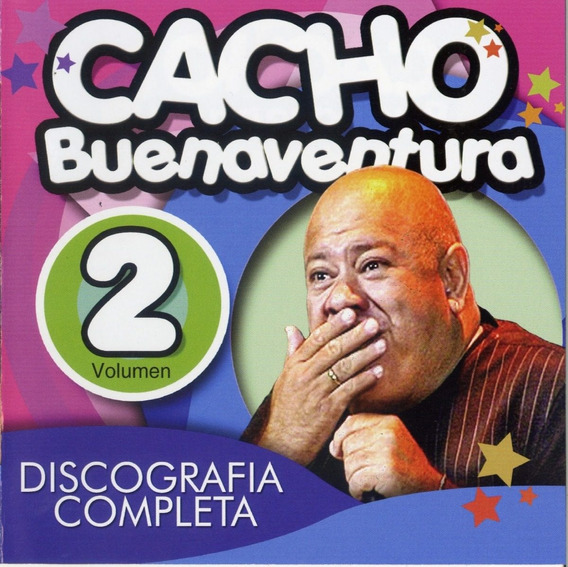 Cd Cacho Buenaventura Discografia Completa Volumen 2 Sy