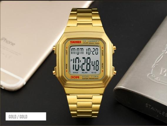 Relógio Skmei Retrô Digital
