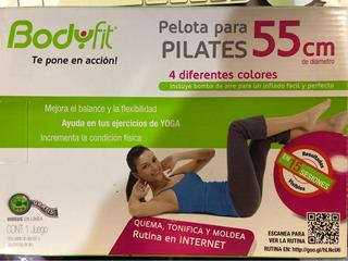 Pelota De Pilares Y Yoga Bodyfit Color Gris