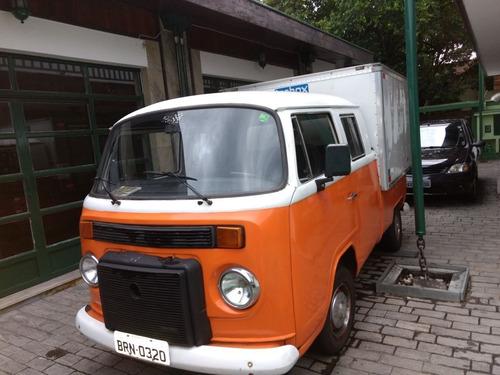 Volkswagen Kombi Cabine Dupla Com Baú