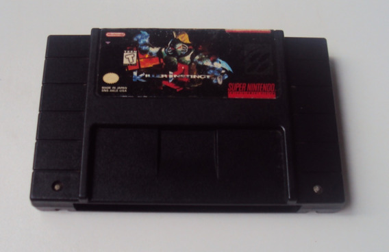 Killer Instinct Original Para Super Nintendo