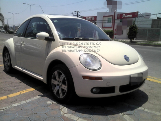 Volkswagen Beetle 2007 Gls Manul 4 Cil Q/cocos