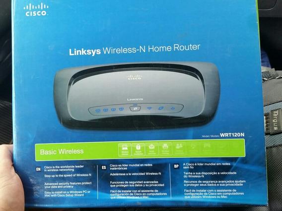 Router Cisco Liksys Wrt120n