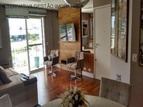 Apartamento Residencial Em Osasco - Sp, Umuarama - Apv1824
