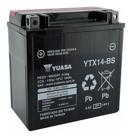 Bateria Yuasa Ytx14bs Quadriciclo Honda Fourtrax 420 / 350
