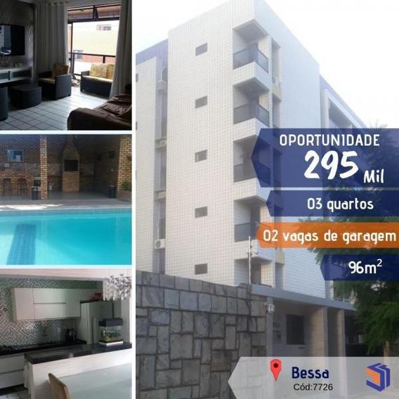 Apartamento Para Venda Em Cabedelo, Intermares, 3 Dormitórios, 1 Suíte, 1 Banheiro, 2 Vagas - 7726