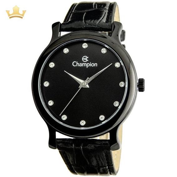 Relógio Champion Feminino Ch22733n Com Nf
