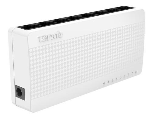 Switch De Escritorio Tenda 8 Puertos Ethernet 100 Mbps