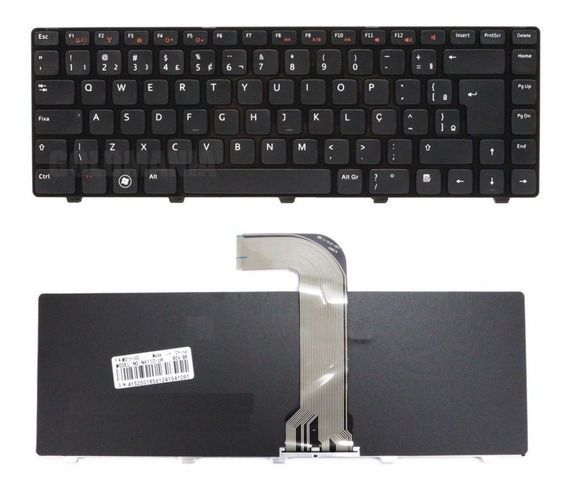 Teclado Dell Inspiron N4110 M4110 M4040 N4050 14r Br Novo