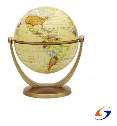 Globo Terraqueo Sepia Multigiro 10cm. Serviciopapelero