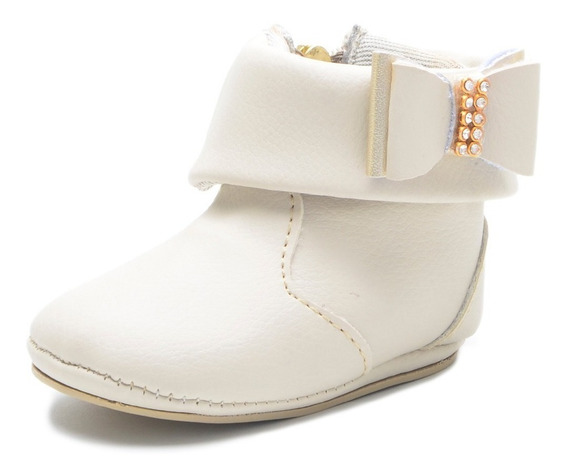 Sapato Bebe Batizado Mocassim Infantil Botinha Menino Menina