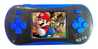 Consola Juegos Portátil Rs-16 Azul