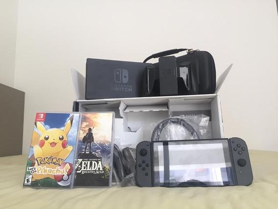 Nintendo Switch (console, Jogos E Acessórios)