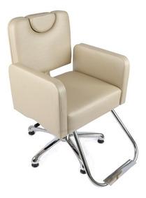 Poltrona Cadeira Cabeleireiro,móveis Salão Sofá Frete Gratis