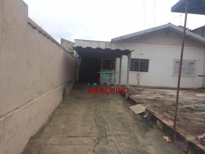 Casa Residencial Para Locação, Jardim Bela Vista, Bauru - Ca2738. - Ca2738