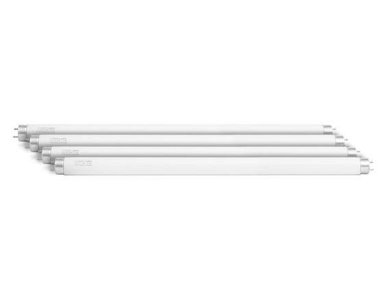 4 Lâmpada 15w Fluoresc Tubular 45cm Actínica Uva Bl T8 Tampa