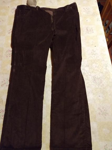 Pantalon Corderoy Hombre Nuevo T60. Oportunidad