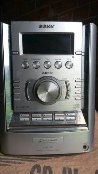 Micro System Sony Hcd-hp7 (com Defeito Para Tirar Peças)