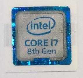 Adesivo Original Intel Core I7 8º Geração