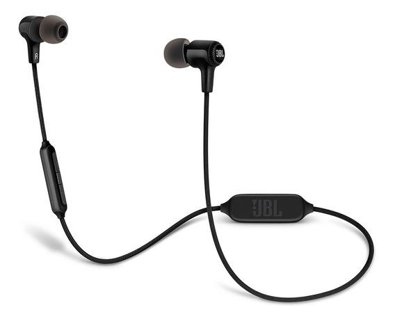 Jbl E25 Bt Fone De Ouvido In-ear Bluetooth C/ Microfone Nf
