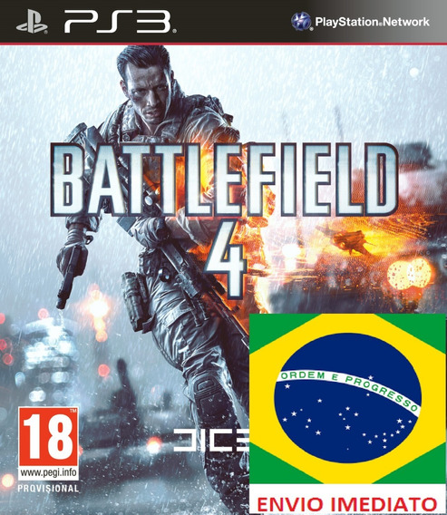 Battlefield 4 Portugues Ps3 Psn - Midia Digital