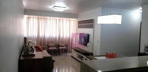 Cobertura Com 3 Dormitórios À Venda, 170 M² Por R$ 650.000 - Campestre - Santo André/sp - Co0930