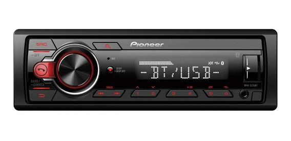Radio Carro Auto Pioneer Mvh S215bt Usb Bluetooth Android