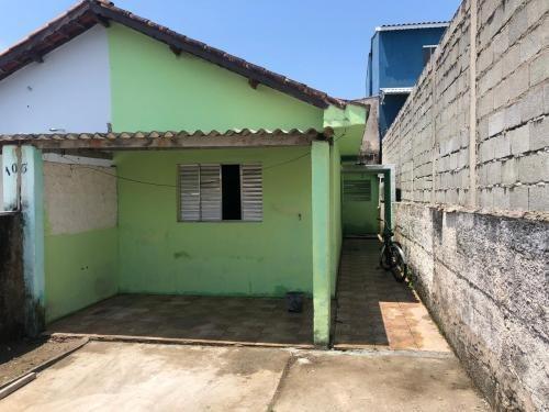 Casa Barata Na Praia De Itanhaém Com Quintal.