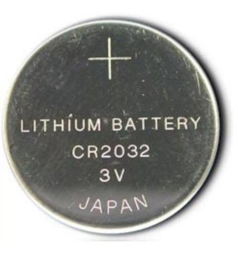 Pilha Bateria Lithium Moeda Cr2032 3v - 1 Unidades Cartela