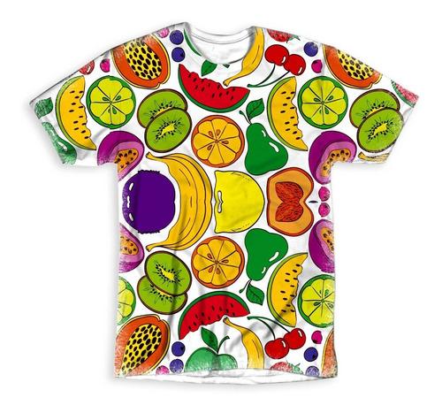 Imagem 1 de 1 de Camiseta Personalizada Frutas!