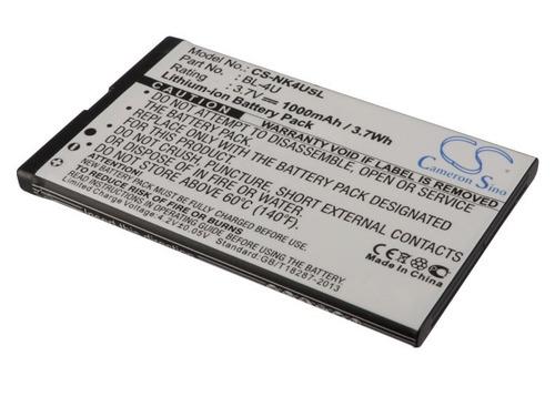 Bateria Nokia Bl-4u Cameron Sino Asha 311 E66 E75