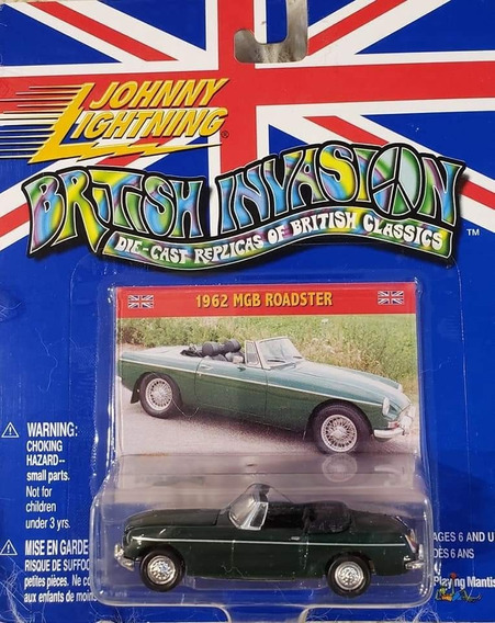 Auto Johnny Lightining 1962 Mgb Roadster