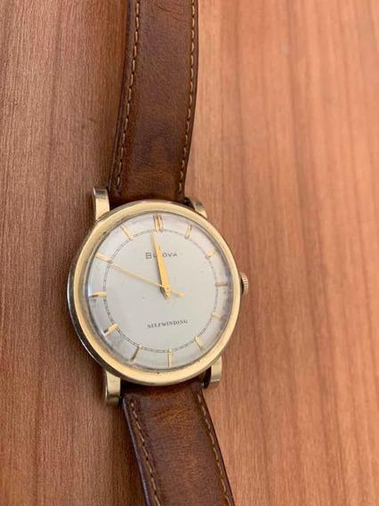 Reloj Bulova 1953 De Oro 14k